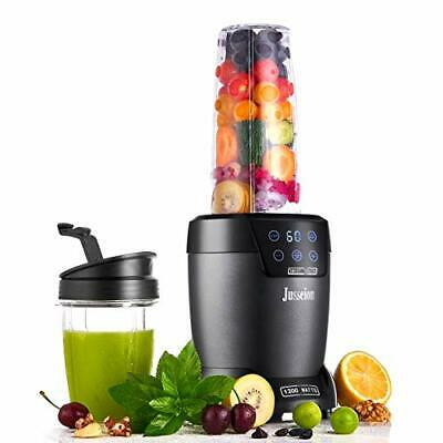 Jusseion Smoothie Blender - 1200W Bullet Blender for Shakes and Smoothies